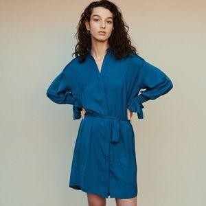 NWT Maje rebano robe chemise dress